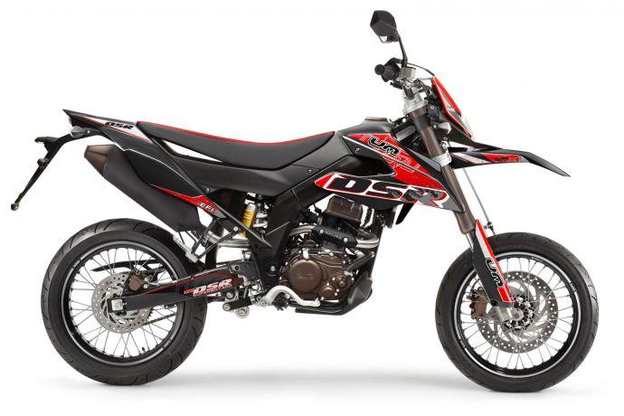 DSR SM 125 schwarz/rot