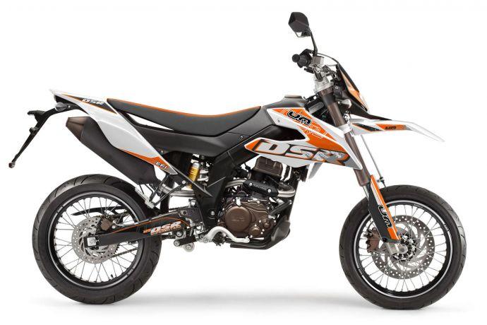 DSR SM 125 weiß/orange