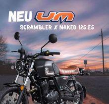 UM Scrambler X Naked 125 E5